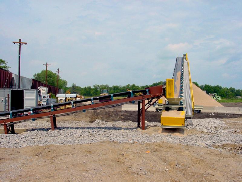 Shallow Pit Rail Car Unloading - McCord Conveyor Systems LLC