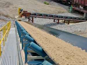 case studies rail car unloading conveyor system
