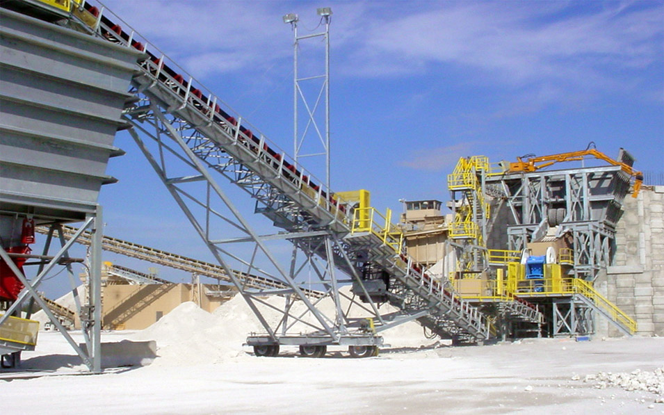 White Rock Quarries - McCord Conveyor Systems LLC